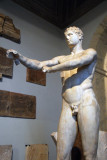 Apoxyomenos discovered in 1849 in Trastevere