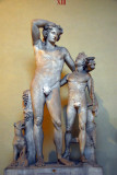 Dionysos with a young satyr, Museo Chiaramonte (inv 1375)