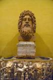 Head of Oceanus, 2nd C. AD, Museo Chiaramonti (inv 1924)