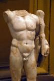 Torso of Herakles, Roman, Museo Chiaramonti (inv 2131)