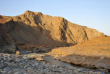 A wadi with water along Oman Route 8