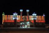 Ibri Al-Gazaa Amusement Park, at night