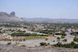 View of Al Hamra from the Misfat Al Abryeen Road