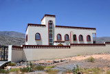 Villas above Al Hamra on the road to Misfat Al Abryeen