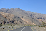 The road through Wadi Al A'ala