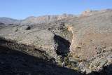 Small wadi from the Jabal Shams Road