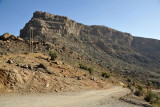 Dirt road leading off the main Jabal Shams Road to Misfat Al Khawatur which could be worth exploring