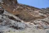 Overhanging cliffs offered ancient people shelter and protection