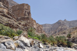 An Nakhur, a village deep inside the Grand Canyon of Arabia