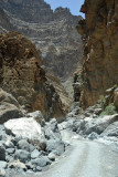Driving back through Wadi An Nakhur