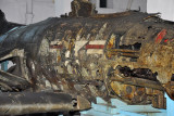 Another rusting American wreck in the basement of the Victorious Fatherland Liberation War Museum