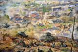 DPRK tanks advancing at the Battle of Taejon