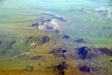 Volcanic landscape of southeastern Armenia