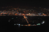 The Palm Jumeirah at night