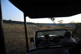 Early start for the morning game drive