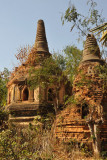 Nyaung Ohak - temple ruins across the river from Indein