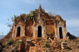 This temple with three entrances appeared to be the largest at Nyaung Ohak
