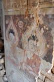 Cracked mural, Nyaung Ohak