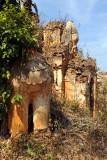 Ruins of a Chinthe (guardian lion), Nyaung Ohak