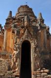 Ornate stupa with sculptures, Nyaung Ohak