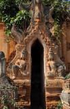 Narrow temple entrance, Nyaung Ohak