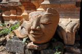 Fragment of a head, Nyaung Ohak