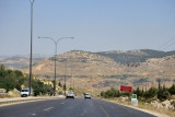 Highway from Amman to the Dead Sea