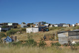 Slums west of Windhoek