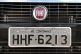 Brazil License Plate - Congonhas, Minas Gerais (MG)