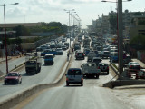Luanda's horrible traffic means it can take ages to get from the city center to the new district of Luanda Sul