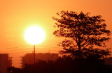 Even in Luanda, the African sunset can be special