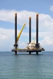 Oil platform Jacob