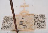Inscription over the door of NS de Nazaré, Anno 1664