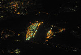 Frankfurt Airport at night (FRA/EDDF)