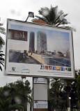 Billboard - Libyan real estate development - Oasis