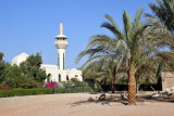 The mosque of Al Ain Wildlife Park