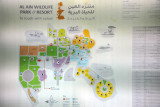 Map of the Al Ain Wildlife Park