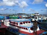 Fishing harbor on the north side of Male'