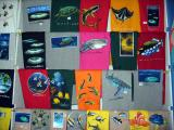 Hand painted t-shirts, Trade Center, Orchid Magu, Male'