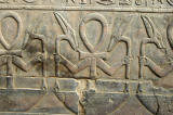 Ankh with arms holding sceptres