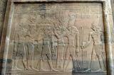 Thoth, Isis, Ptolemy XII, Re'et, Horus, Haroeris (Horus the Elder)