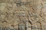 Thoth, Isis, Ptolemy XII, Re'et, Horus