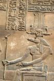 Sobek, the crocodile-headed god