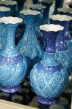 Iranian enamelled copper vessels