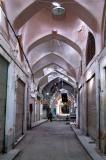 Side alley of the Bozorg Bazaar