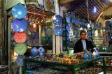 Enamel ware shop, Bazar-e Bozorg, Isfahan