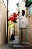 Alley with flags, Old Town