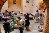 Coffee shop under Alexander's Prison