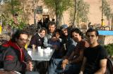 Yazd is a small town and I ran into this group several times