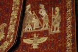 Zoroastrian scene on an embroidered cloth, Yazd